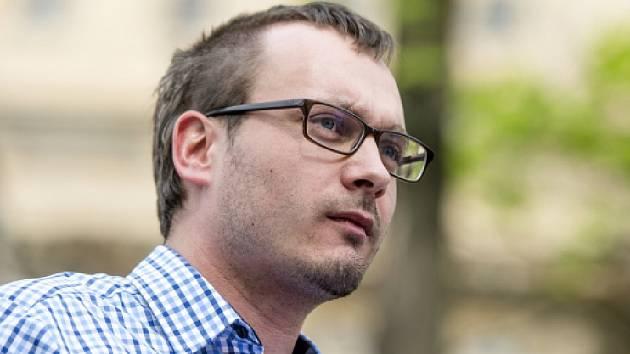 Předseda radikální Národní demokracie Adam B. Bartoš.