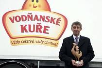 Vodňanské kuře z holdingu Agrofert