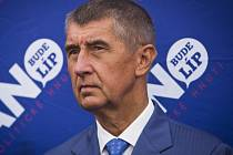 Vicepremiér Andrej Babiš (ANO).