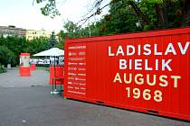 Výstava fotografií Ladislava Bielika v bratislavském parku