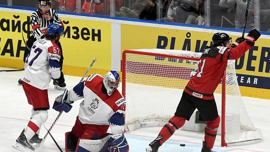 Bratislava 25.5.2019 - Mistrovství světa v Bratislavě - semifinále Česko Kanada
