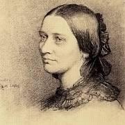 Kresba Clary Schumannové z roku 1859