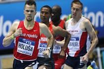 Jakub Holuša (vlevo) na halovém mistrovství světa v Sopotech.