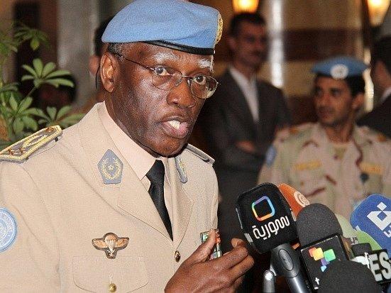 Šéf poslední mise v Sýrii Babacar Gaye