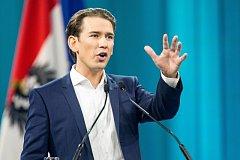 Šéf rakouských lidovců Sebastian Kurz