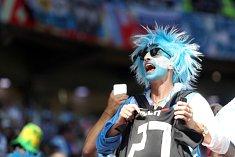 Argentinský fanoušek na MS ve fotbale.