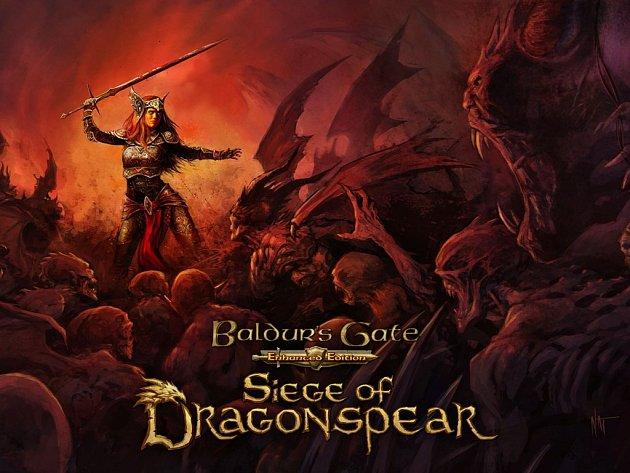 Počítačová hra Baldur's Gate: Siege of Dragonspear.