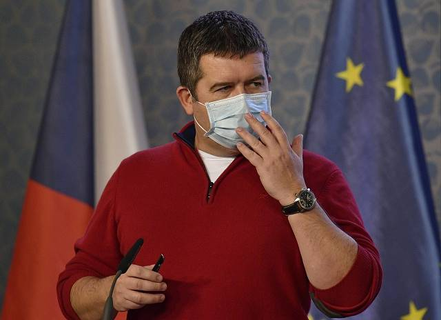 Ministr vnitra a vicepremiér Jan Hamáček (ČSSD)