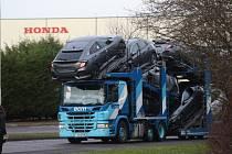 Výrobní závod Hondy v britském Swindonu