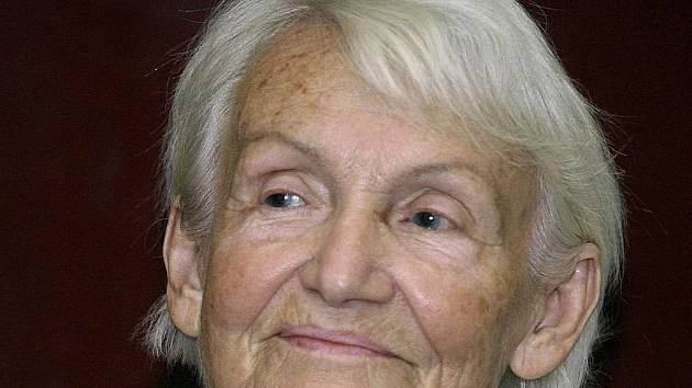 Někdejší první dáma východního Německa Margot Honeckerová (82).