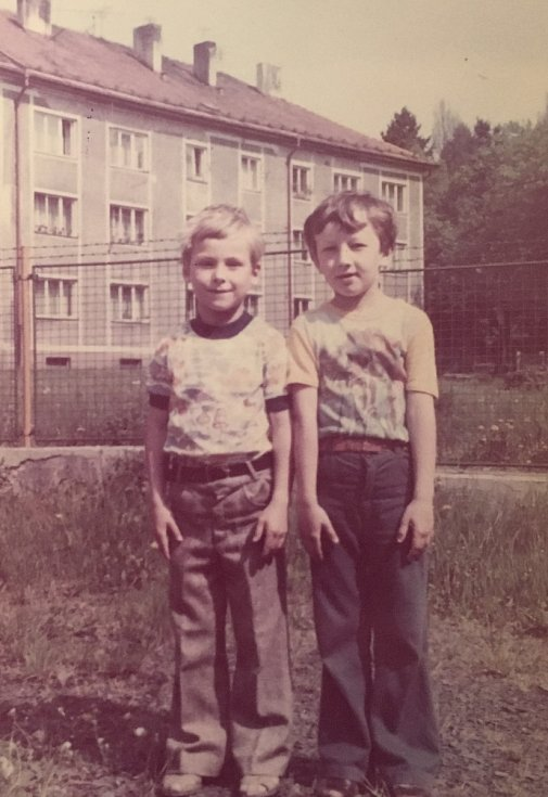 Archivní snímek ze školy