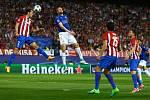 Zápas Leicester City s Atletico Madrid