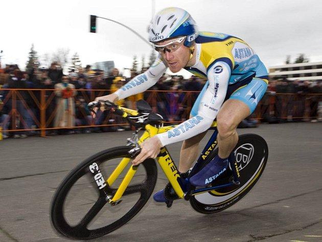 Americký cyklista Levi Leipheimer dokázal potřetí v řadě vyhrát závod Kolem Kalifornie.