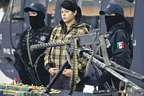 Mexické drogové gangy mají ve své výzbroji už i protiletadlové kulomety.
