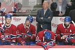 Střídačka hokejistů Montreal Canadiens