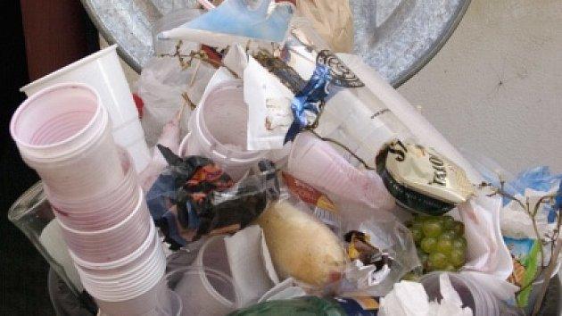 Odpadky. Ilustrační foto.