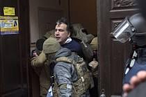 Zatčení Michaila Saakašviliho