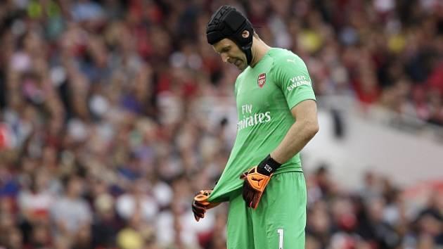 Petr Čech, brankář londýnského Arsenalu.