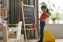 Malování povoleno. Dětská tabule.
