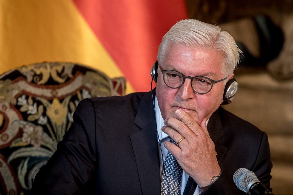 Německý prezident Frank-Walter Steinmeier.