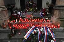 Hrob Václava Havla v Praze
