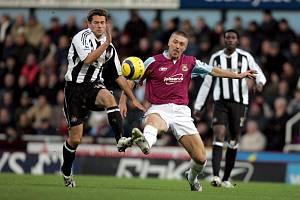 Tomáš Řepka v dresu West Hamu.