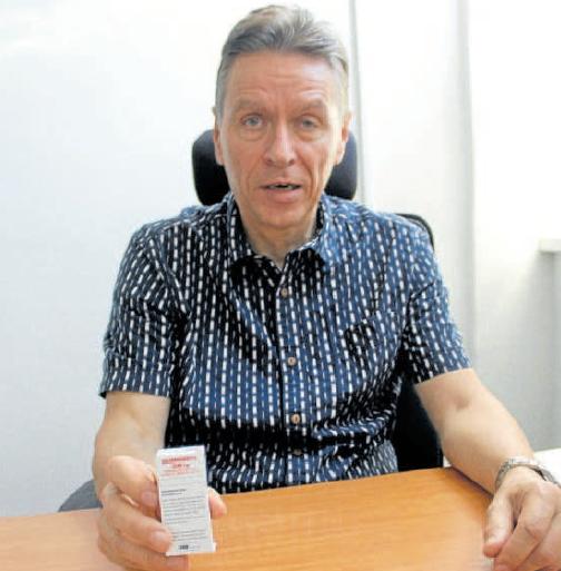 Ředitel úseku pro strategii a vývoj VUAB Pharma Vladimír Kysilka