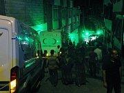 Potyčky v ulicích Istanbulu. Ilustrační foto