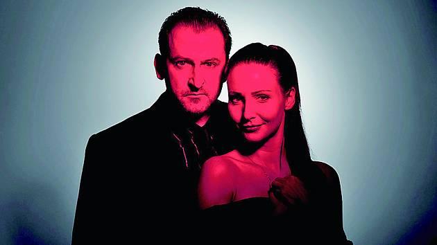 Tváře zimní pohádky. Martin Hofmann a Veronika Arichteva.