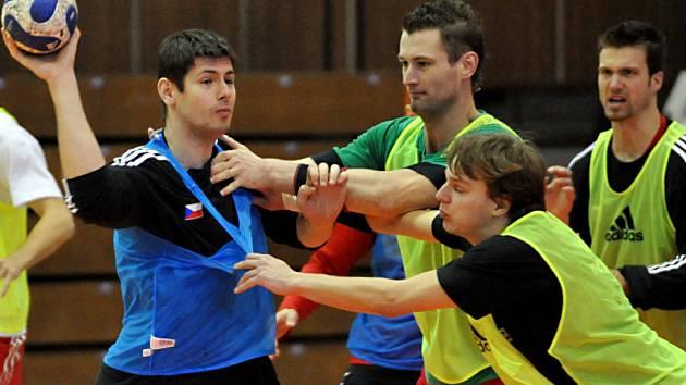 Čeští házenkáři se připravují na mistrovství Evropy, které odstartuje na přelomu ledna v Norsku.
