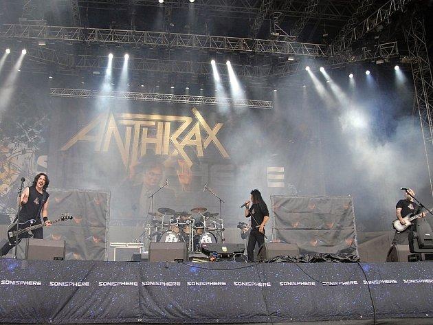 Anthrax, metalová legenda, se zastaví v Praze.