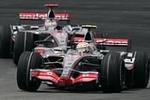 Lewis Hamilton a Fernando Alonso, McLaren