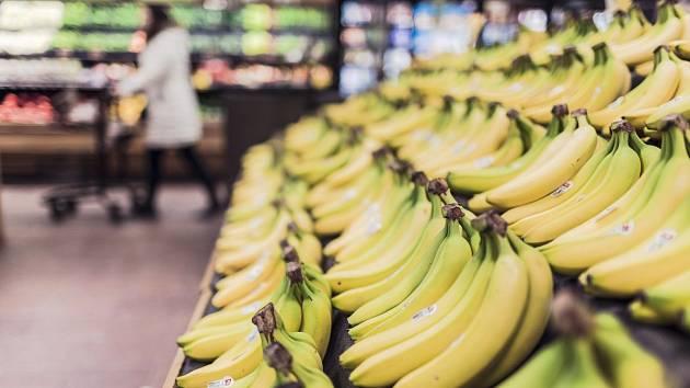 Banány. Ilustrační foto