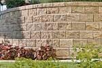 Betonová opěrná zeď Allan Block