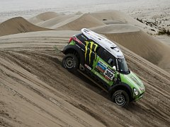 Stephane Peterhansel na Rallye Dakar 2013.