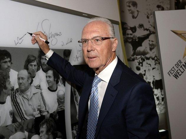 Legendární fotbalista Franz Beckenbauer.