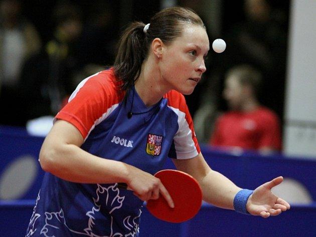 Stolní tenistka Dana Hadačová.