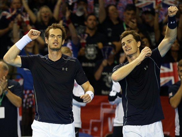 Bratři Andy (vlevo) a Jamie Murrayové.