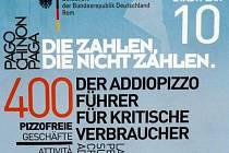 Německé velvyslanectví v Itálii vydalo plán sicilské metropole Palerma, na němž jsou označeny všechny obchody, které odmítají platit výpalné mafii a jsou sdruženy do spolku Addiopizzo.