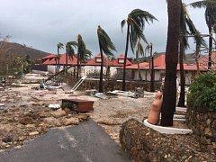 Irma rozdrtila i ostrov Svatý Martin