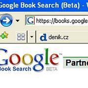 Google Booksearch - česká verze knižního vyhledávače