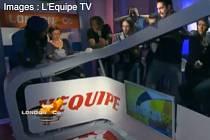 Házenkáři Francie oslavili olympijský triumf po svém. Zničili televizní studio.