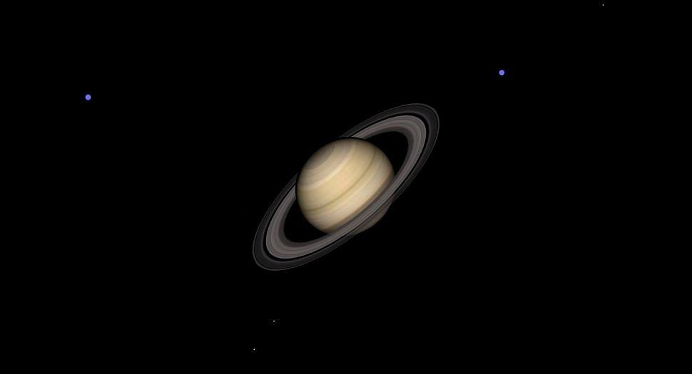 Saturn je během letošního července viditelný po celý měsíc. Nejvyšší jasnosti dosáhl 20. července
