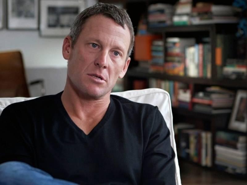 Bývalý americký cyklista Lance Armstrong