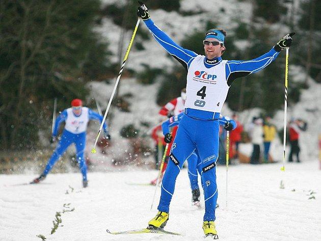 Dušan Kožíšek se stal mistrem ČR ve sprintu.