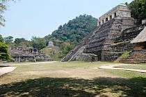 Archeologické naleziště Palenque v jižním Mexiku