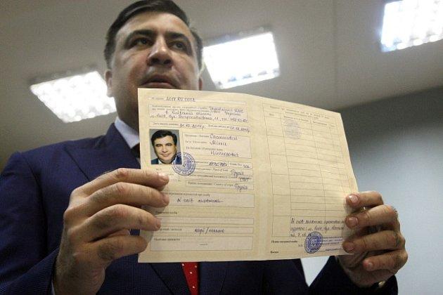 Michail Saakašvili u soudu v Kyjevě