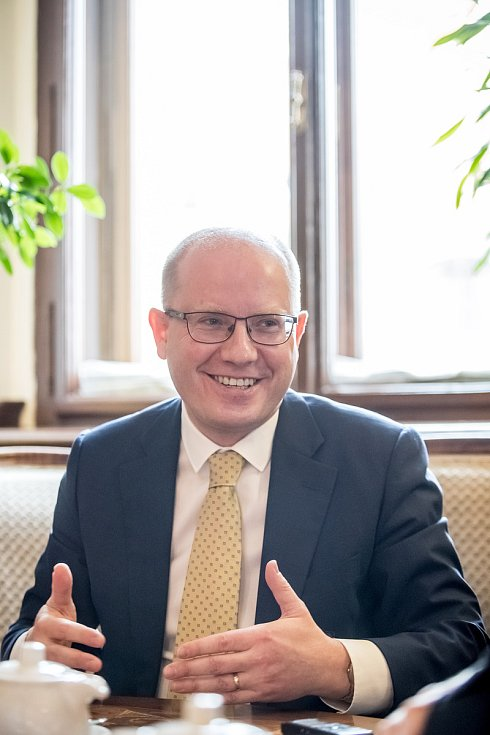Bohuslav Sobotka poskytl 22. března v Praze rozhovor Deníku.