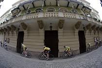 Cyklisté ve středu bojovali v závodě Staroměstské kritérium 2009.