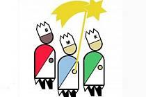 Tři králové - kresba